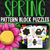 Spring Pattern Block Puzzles | Spring Pattern Block Challenge Cards