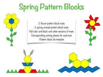 Spring Pattern Blocks