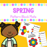 Spring Pattern Blocks Mats
