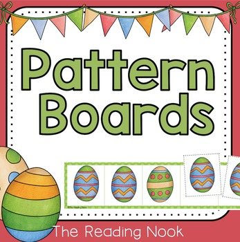 Spring Pattern Boards