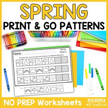 Spring Pattern Printables