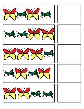 Spring Pattern Strips:  A-B patterns (ESE or Gen. Ed)