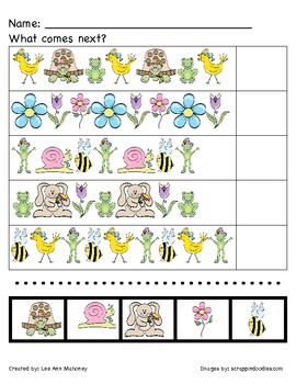 Spring Patterns (AB, ABC)