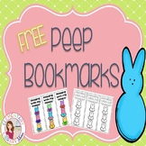 Spring Peep Bookmarks {FREEBIE}