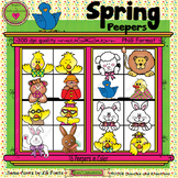 Spring Peepers ClipArt