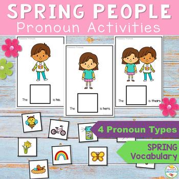 Spring People Sentences: 3rd person pronouns