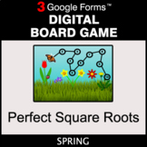 Spring: Perfect Square Roots - Digital Board Game | Google Forms