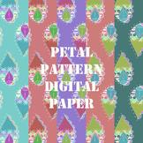 Spring Petal Pattern Digital Paper Clip Art