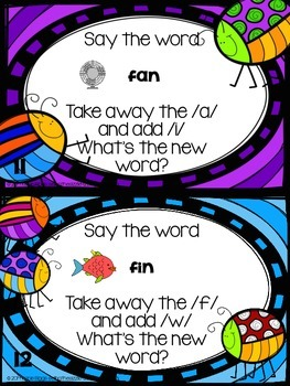Spring Phoneme Substitution FREEBIE!