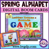 Spring Phonemic Awareness BOOM CARDS NO PRINT - Teletherapy