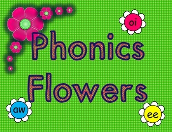 Spring Phonics Flowers