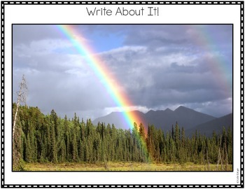 Spring Photo Writing Prompts Pack