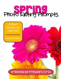 Spring Photo Writing Prompts with Word Banks