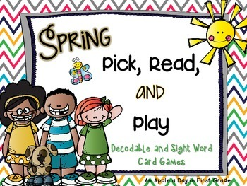 Spring Pick, Read, and Play