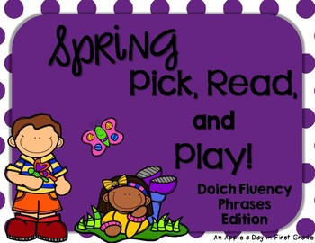 Spring Pick, Read, and Play Phrases