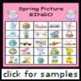 Spring Picture Bingo