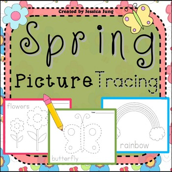 Spring Picture Tracing