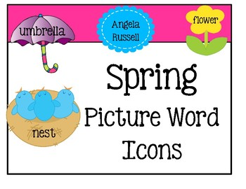 Picture Words - Spring