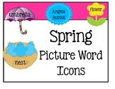 Picture Word Icons ~ Spring