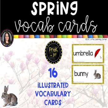 Spring Vocabulary Cards
