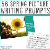 Spring Pictures Writing Prompts - Includes March, April, &