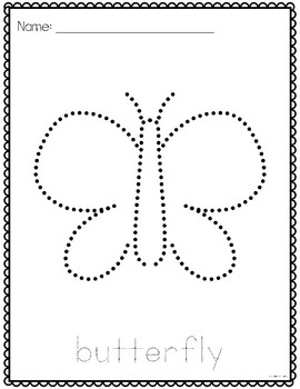 Spring Pinning or Tracing Pages