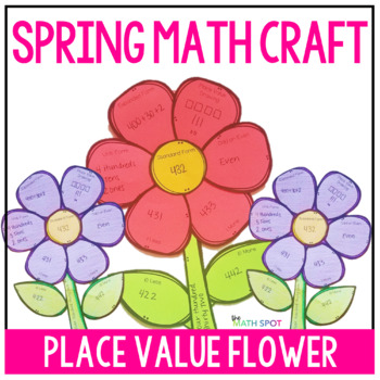 Spring Place Value Math Craft