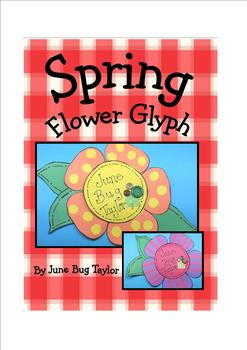 Spring Plant Glyph (includes writing, math and science)