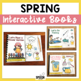 Spring Planting Flowers Interactive Book