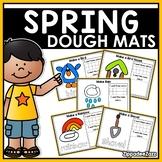 Spring Play Dough Mats Activities