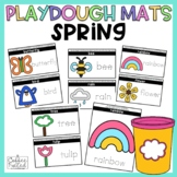 Spring Playdough Mats