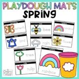 Spring Playdough Mats