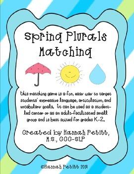 "Spring Plural ""S"" Matching"