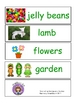 Spring  Pocket Chart Words Word Wall