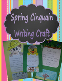 Spring Poem Cinquain Writing Craft (Parts of Speech)