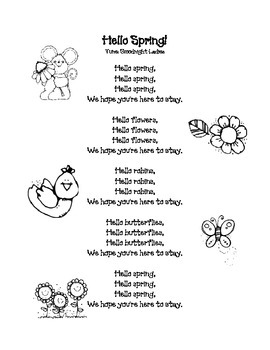 Spring Poem: Hello Spring