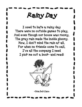 Spring Poem: Rainy Day