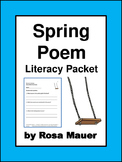 Spring Poem and Literacy Printables