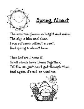 Spring Poem: Spring Almost