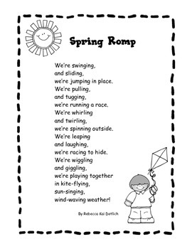 Spring Poem: Spring Romp