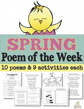 Spring Poem of the Week