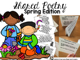 Spring Poem of the Week Flipbook Activities