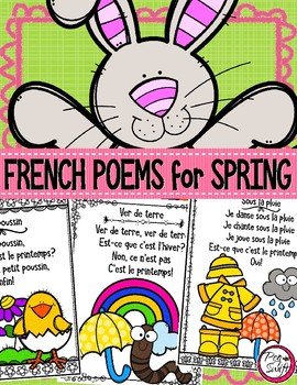 Spring Poems ~ French ~ le printemps