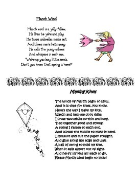 Spring Poems: March Wind & Making Kites