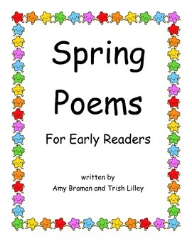 Spring Poems Packet