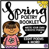 Spring Poetry Booklet