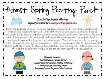 Spring Poetry Bundle