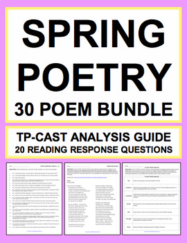 Spring Poetry Bundle: April is Poetry Month!