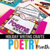 Spring Activity - Writing Poetry Craftivity {No Prep}
