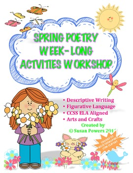 Spring Poetry & Figurative Language Writer's WeekLong Workshop